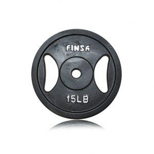 Disco Finsa Negro 15Lb