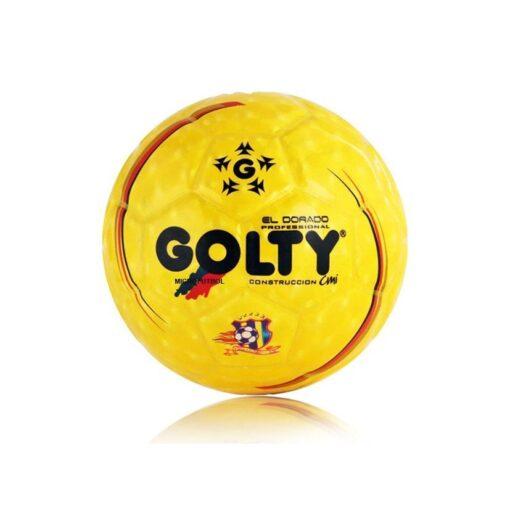 Balón Golty Microfútbol Pro Dorado