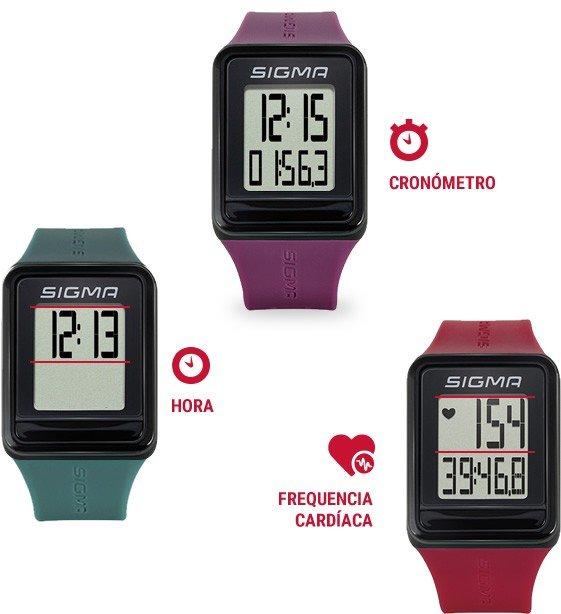 Pulsómetro sigma Idgo es un accesorio deportivo disponible en deportes regol