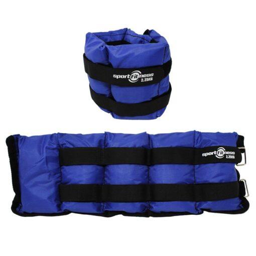 Uno de los Productos Deportivos disponibles para entrenamientos es la Pesa Tobillera 4.5 kg SportFitness