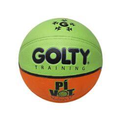 Balón de baloncesto infantil golty pivot es un implemento deportivo