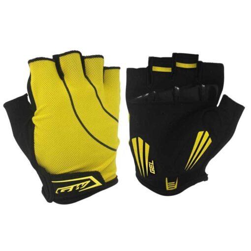 Practica ciclismo usando guantes deportivos de la tienda deportes regol