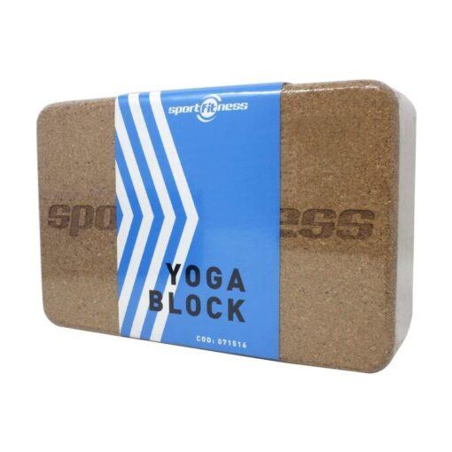 Bloque Yoga Corcho SportFitness