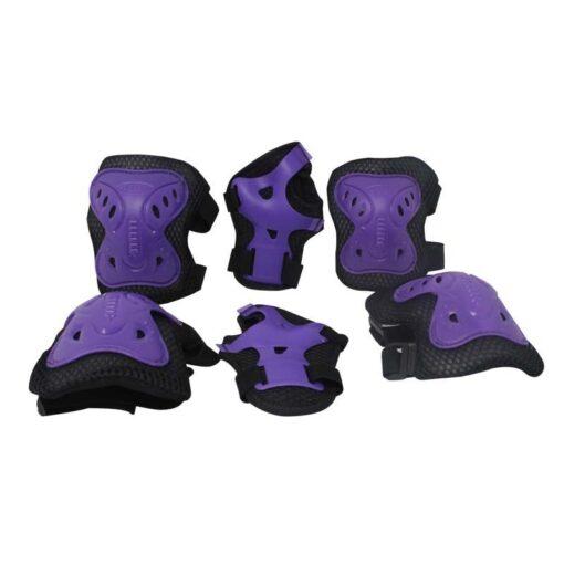 un kit de protección de patinaje es un implemento deportivo necesario para practicar deporte sin riesgos