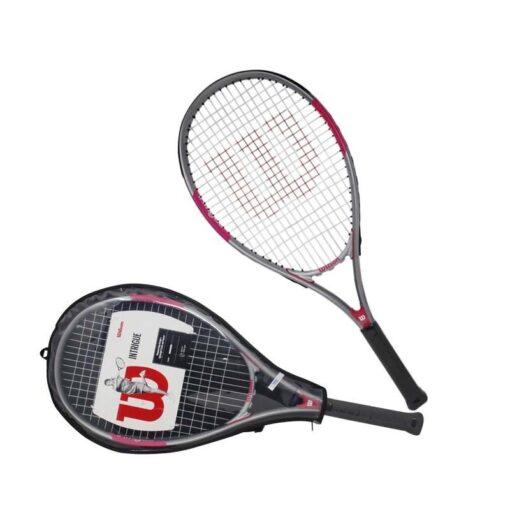 Raqueta Tenis Campo Wilson Intrigue 27 Pulgadas