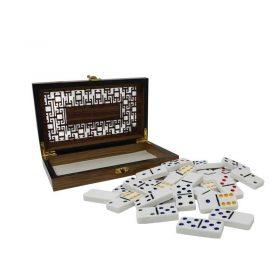 Domino Caja De Madera Fina Wonder
