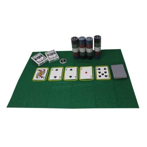 Set Poker 200 Fichas Wonder