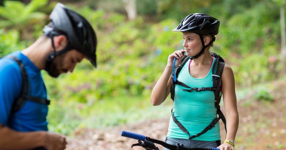 El Deporte de bicicleta de montaña es una opción saludable