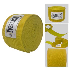 Practica Deportes y Ejercicios en Casa con las Vendas de Boxeo Amarillas de Everlast