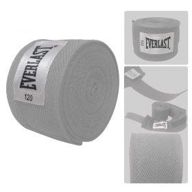 Implementos Deportivos como las vendas deportivas Everlast son útiles en el entrenamiento de boxeo