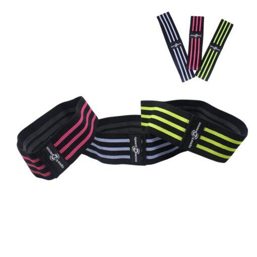 La banda elástica sportfitness te ayuda en el entrenamiento deportivo en casa
