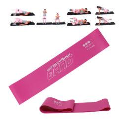 Banda elástica rosada producto disponible en deportes regol en medellin