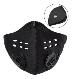 En el Deporte del ciclismo es importante el uso de máscara antipolución disponible en Deportes Regol