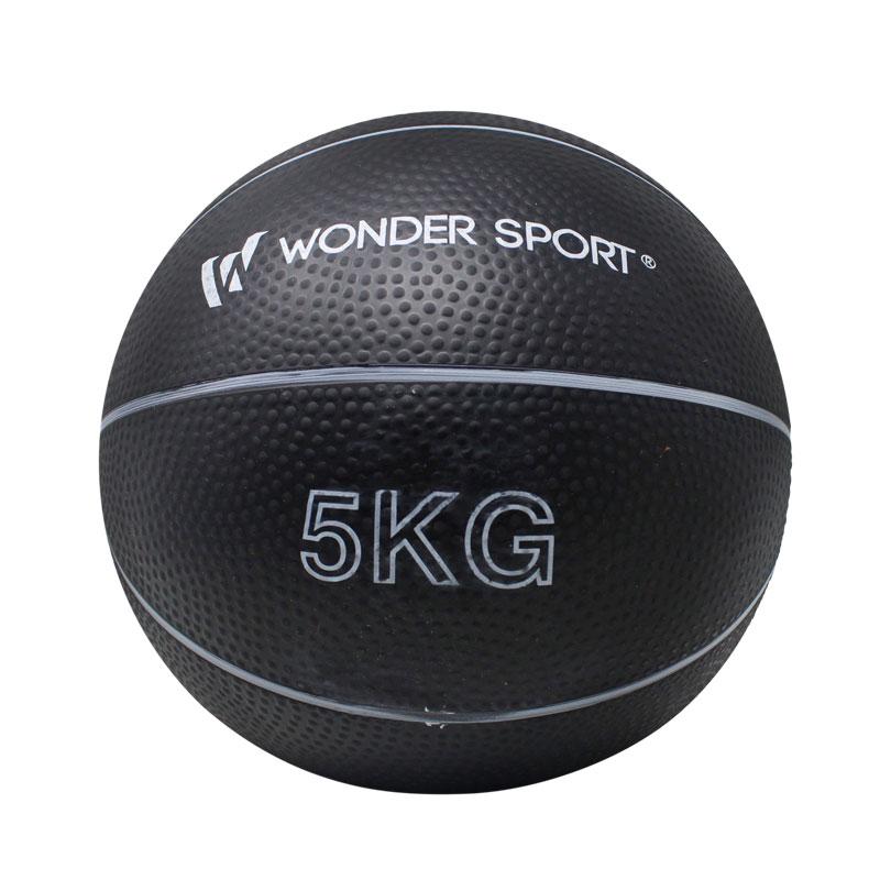 El balón medicinal Wonder es útil en entrenamientos deportivos y puedes comprar en Deportes Regol