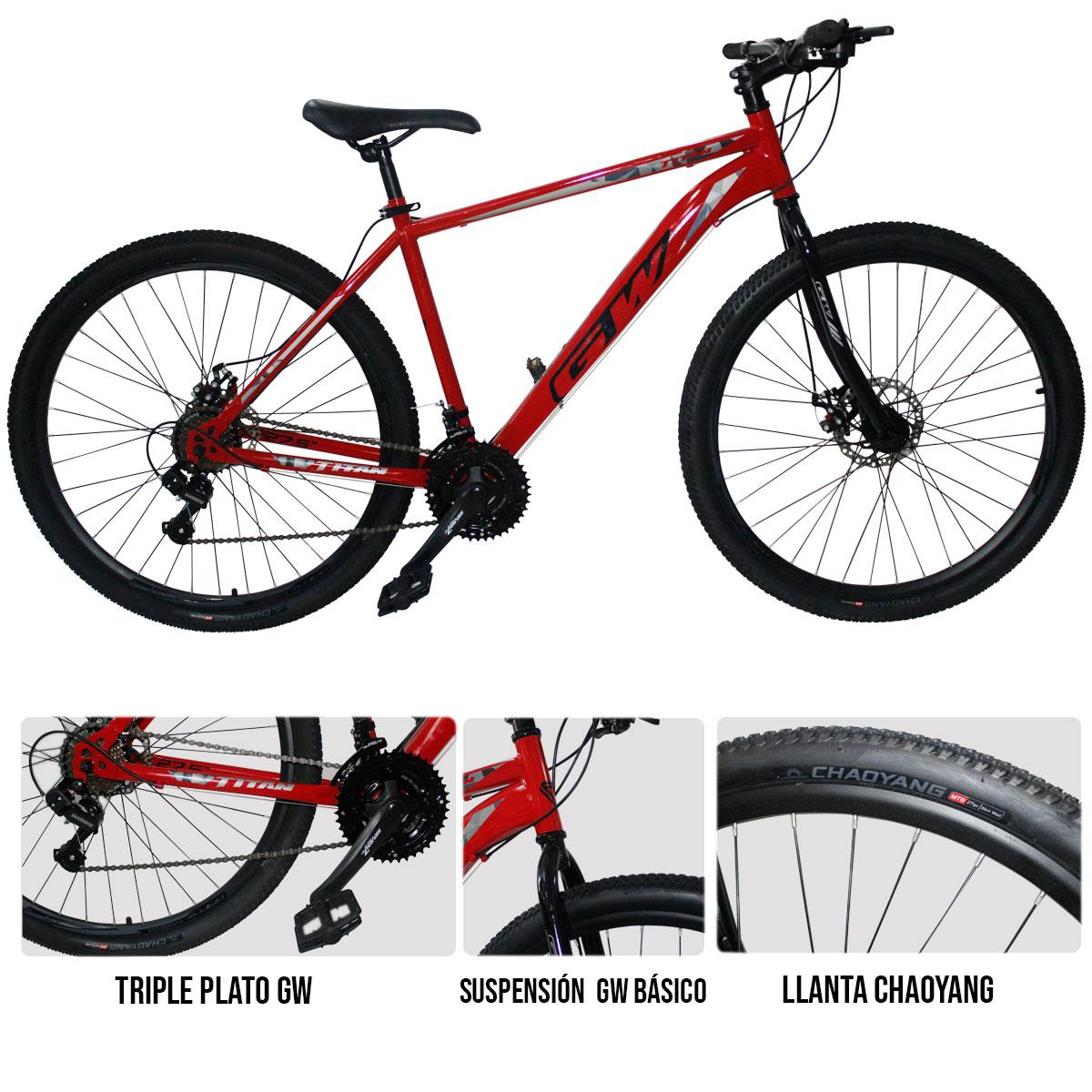 Compra una bicicleta GW Titán en la Tienda Deportiva Deportes Regol