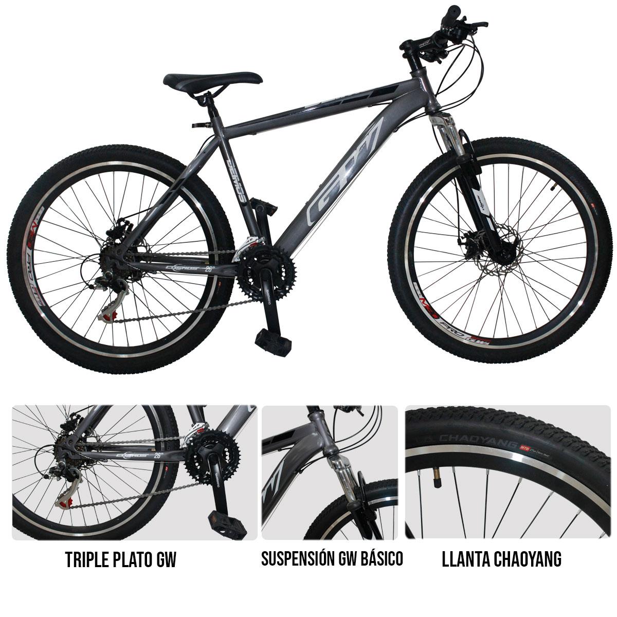 Bicicleta Deportiva GW Deimos disponible en Tienda Deportiva Deportes Regol