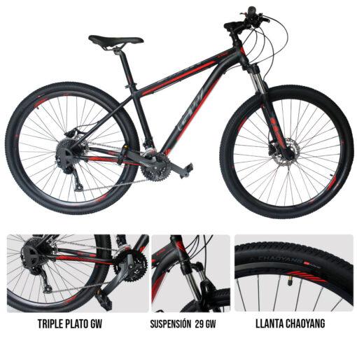 Uno de los implementos deportivos en medellin es la bicicleta Lynx