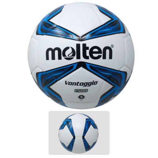 Balón de Futbol Molten azul es un producto deportivo de la Tienda Deportes Regol.