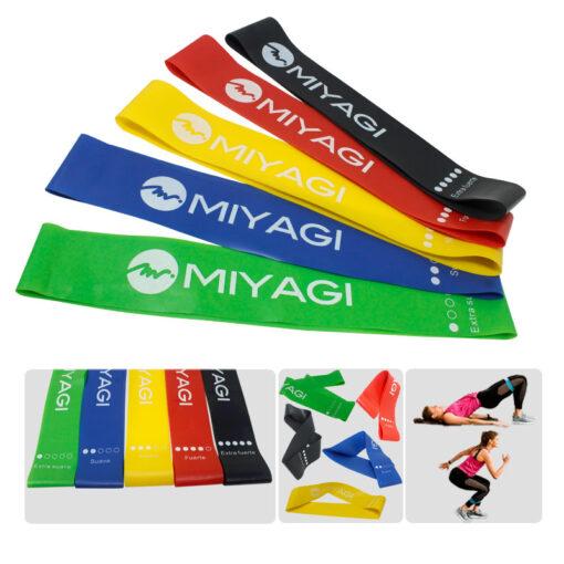 Set de bandas elásticas miyagi un producto deportivo en medellin