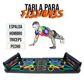 Realiza entrenamientos Deportivos en Medellín con la Barra de Flexiones de Pecho Wonder. Somos Deportes Regol.