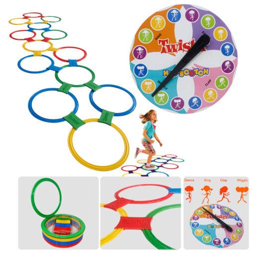 Productos Deportivos en Medellín como el Twister Hopscotch son útiles para entrenamientos deportivos