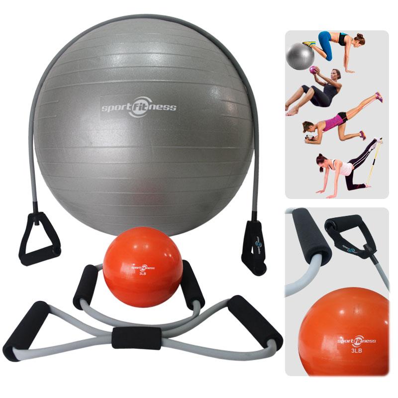 Una Opción de Productos Deportivos es la Tienda Deportes Regol, Kit de Yoga.