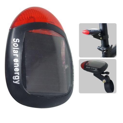 Una de las opciones deportivas para ciclismo son las luces de bicicleta traseras de energía Solar, La encuentras en Deportes Regol.