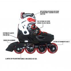 Conoce el funcionamiento de los patines deportivos en linea cougar disponibles en la tienda deportes regol en medellin. Productos deportivos para entrenamientos en Colombia.