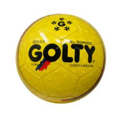los productos para el deporte son los que encuentras en tiendas deportivas como el balón golty pro